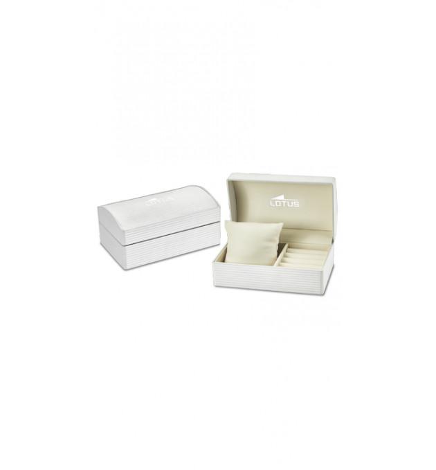 Material de caja: Acero Diámetro: 34 mm Tipo fondo: Rosca Estanqueidad: 5ATM Tipo de pulsera: Textil negro Tipo de c - 432189-05